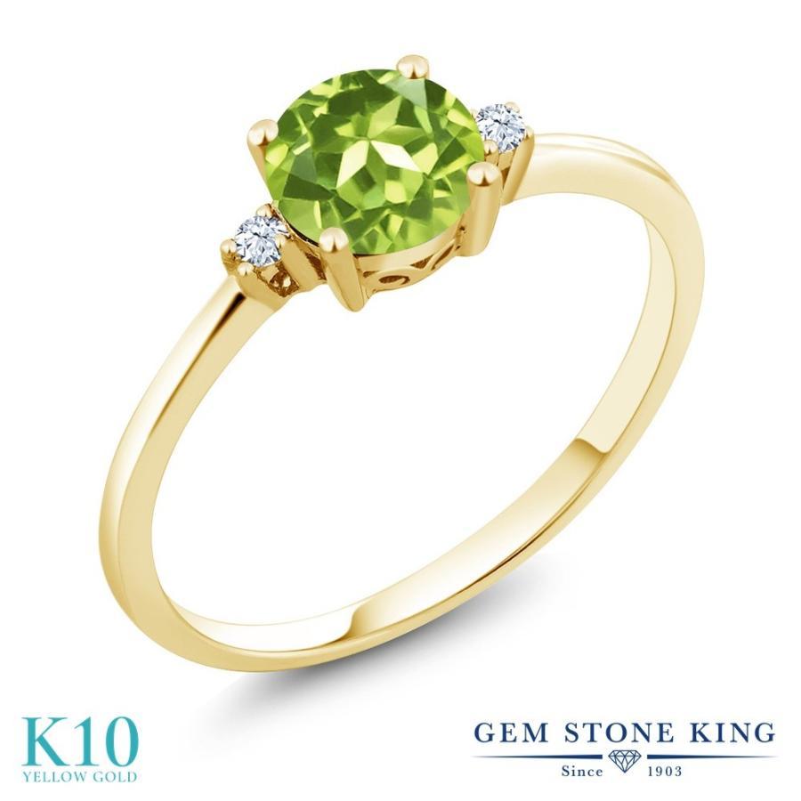 バーゲンで 天然石 ペリドット 指輪 レディース リング 10金 イエローゴールド 8月 誕生石 プレゼント 女性 嫁 誕生日, 家電のネイビー 3a84a6f2