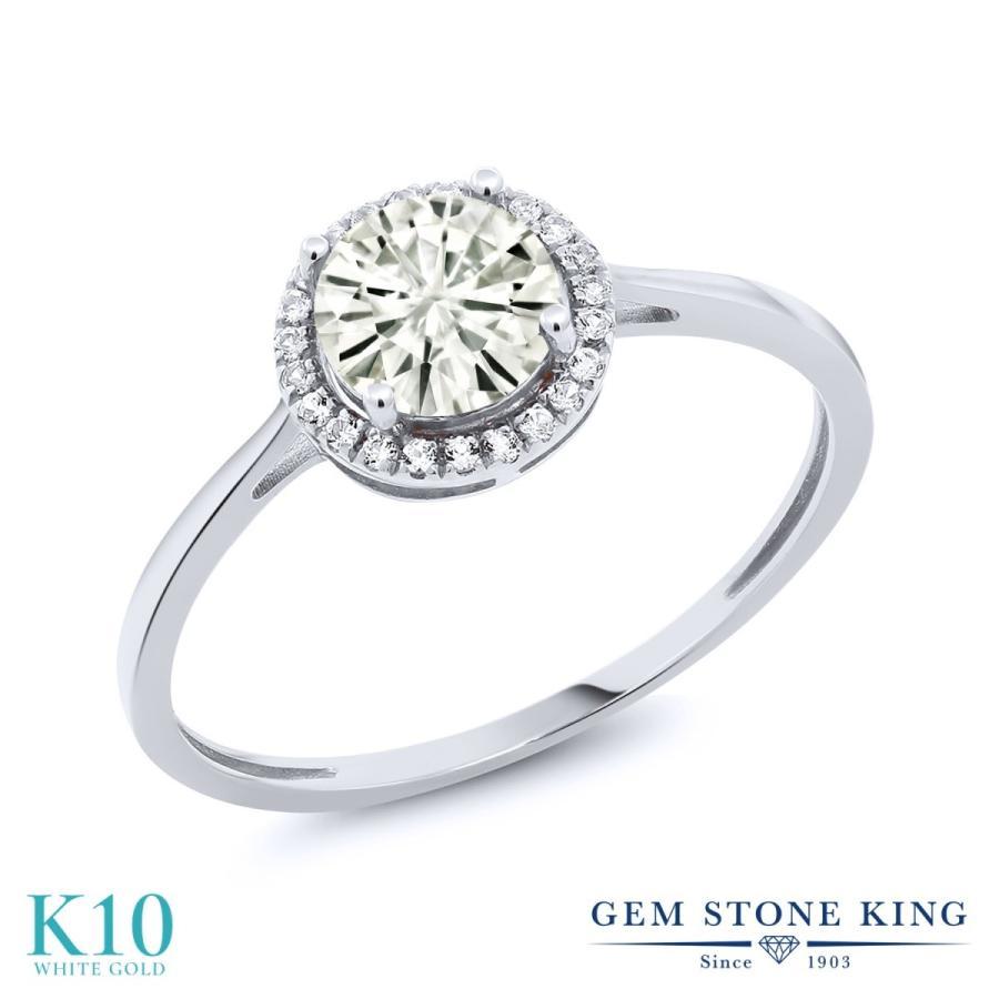 【在庫処分大特価!!】 Forever Classic モアサナイト 指輪 レディース リング 天然 ダイヤモンド 10金 ホワイトゴールド プレゼント 女性 嫁 誕生日, スターパーツ 817c78da