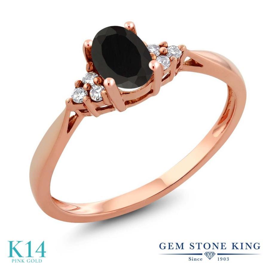 都内で 天然 オニキス 指輪 レディース リング ダイヤモンド 14金 ピンクゴールド 天然石 8月 誕生石 プレゼント 女性 嫁 誕生日, 粋な着こなし 3fe4150f
