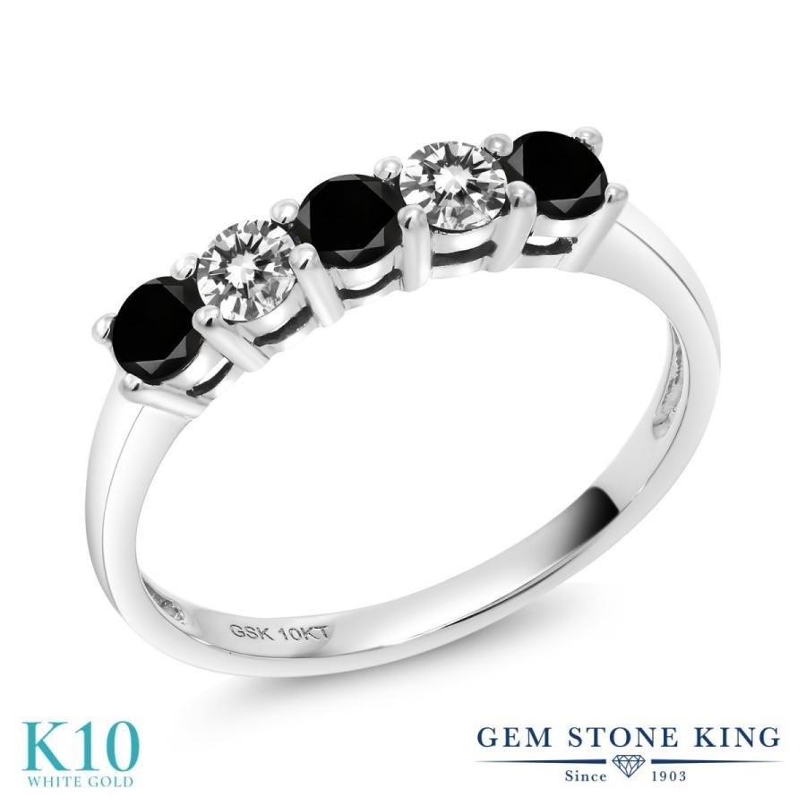 速くおよび自由な ブラックダイヤモンド 指輪 レディース リング 10金 ホワイトゴールド 天然石 4月 誕生石 プレゼント 女性 嫁 誕生日, パールジュエリー専門店 真珠の杜 3cd84439