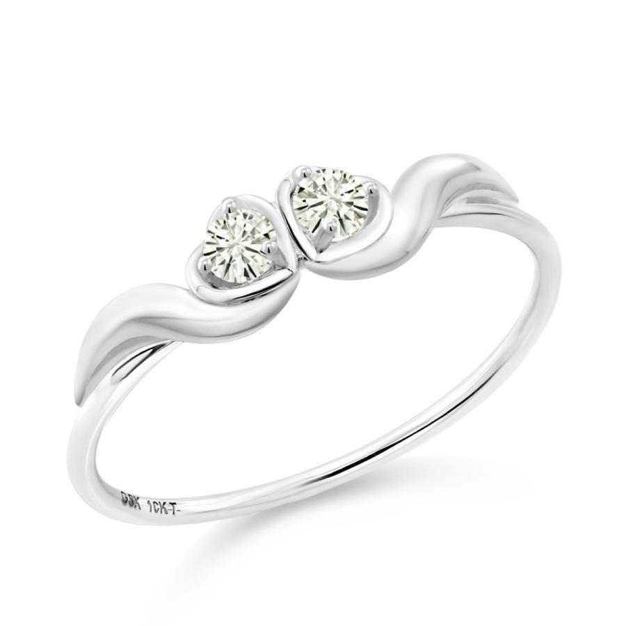 セットアップ Forever Classic モアサナイト 指輪 レディース リング 10金 ホワイトゴールド プレゼント 女性 嫁 誕生日, 壁紙屋本舗カベガミヤホンポ 2cdecebc