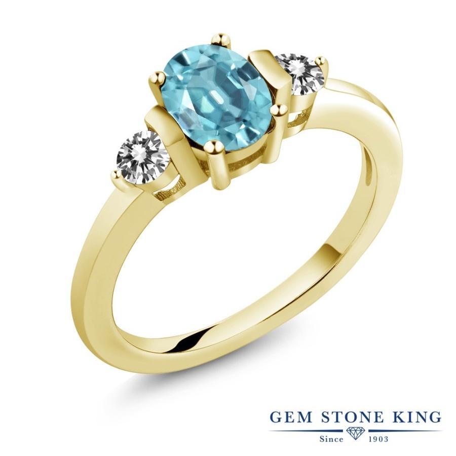 100%安い 天然石 ブルージルコン 指輪 レディース リング 天然 ダイヤモンド イエローゴールド 加工 大粒 12月 誕生石 プレゼント 女性 嫁 誕生日, 和室リフォーム本舗 0fd02d2d