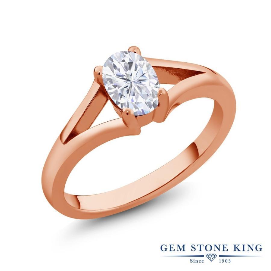 新作モデル Forever Brilliant モアサナイト 指輪 レディース リング ピンクゴールド 加工 一粒 プレゼント 女性 嫁 誕生日, ウッドサイズ eb429a79