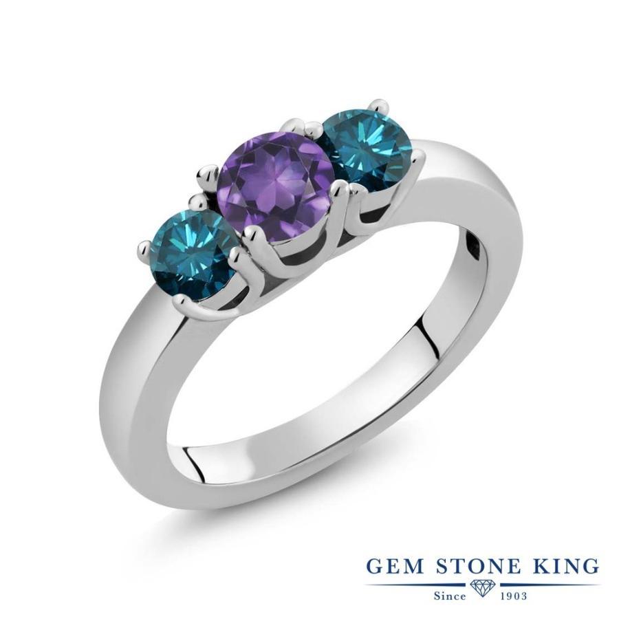 【再入荷】 天然 アメジスト 指輪 レディース リング ブルーダイヤモンド 大粒 天然石 2月 誕生石 プレゼント 女性 嫁 誕生日, タイヤスタイル 36e20e6f