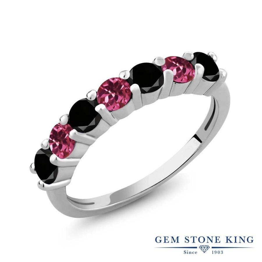 2019年新作入荷 ブラックダイヤモンド 指輪 レディース リング 天然 ピンクトルマリン 天然石 4月 誕生石 プレゼント 女性 嫁 誕生日, ネジのトミモリ e11c6817