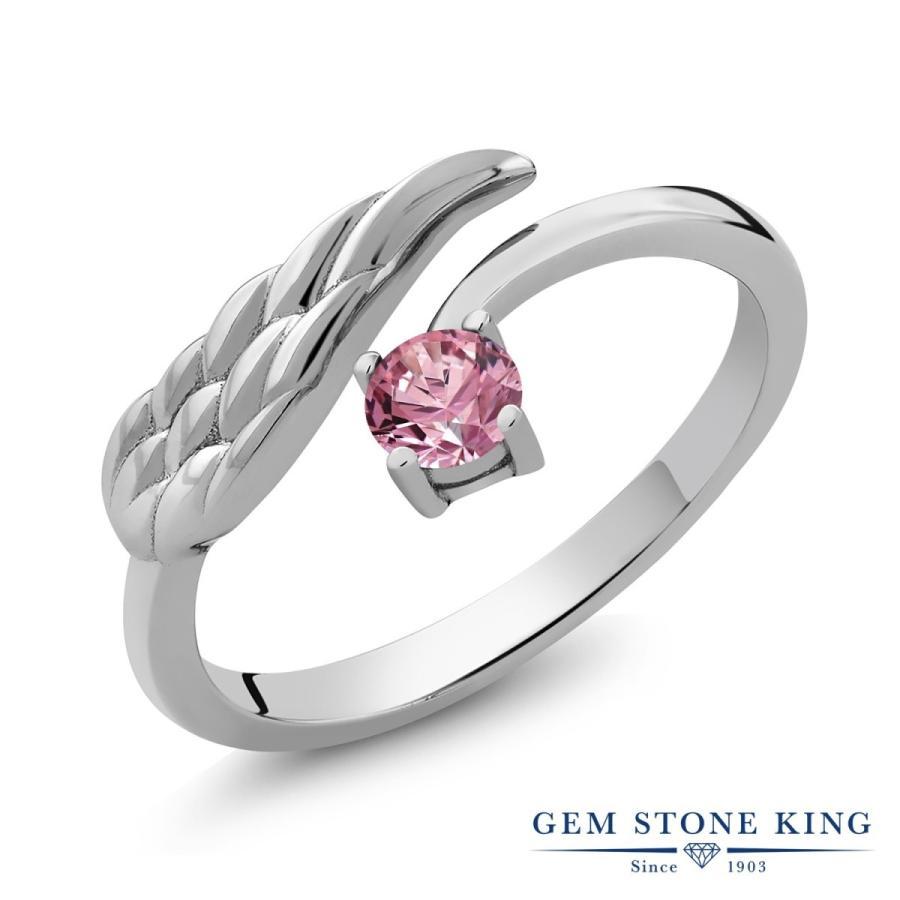 海外ブランド  合成ピンクダイヤモンド 指輪 レディース リング 一粒 プレゼント 女性 嫁 誕生日, ツリーワールド 5c9aa120