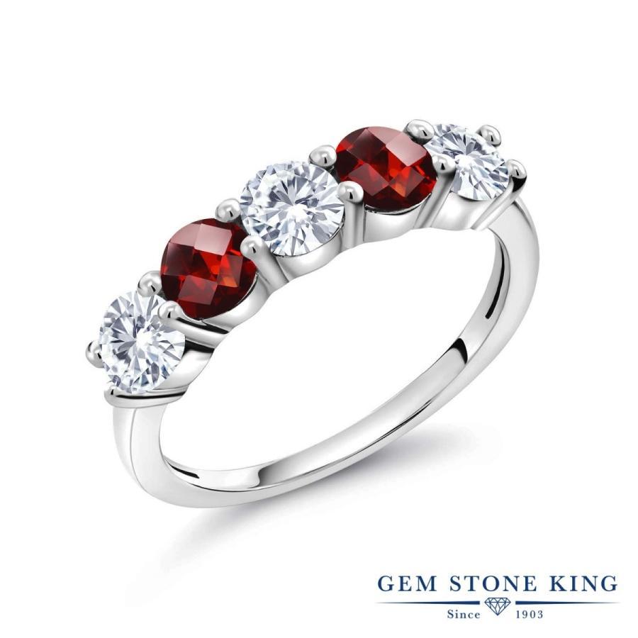 【初回限定お試し価格】 合成ダイヤモンド 指輪 レディース リング 天然 ガーネット プレゼント 女性 嫁 誕生日, EAIM 39fb6235