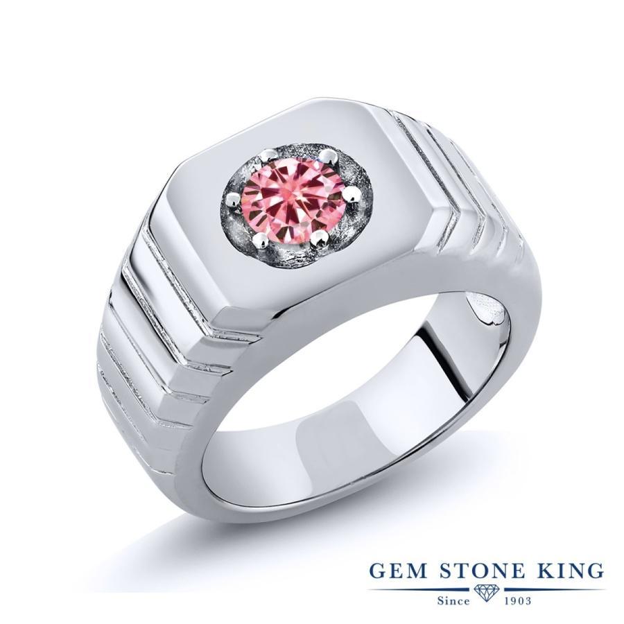 お気にいる ピンク モアサナイト 指輪 レディース リング 一粒 金属アレルギー対応, 肘折温泉 ほていや e036e19e