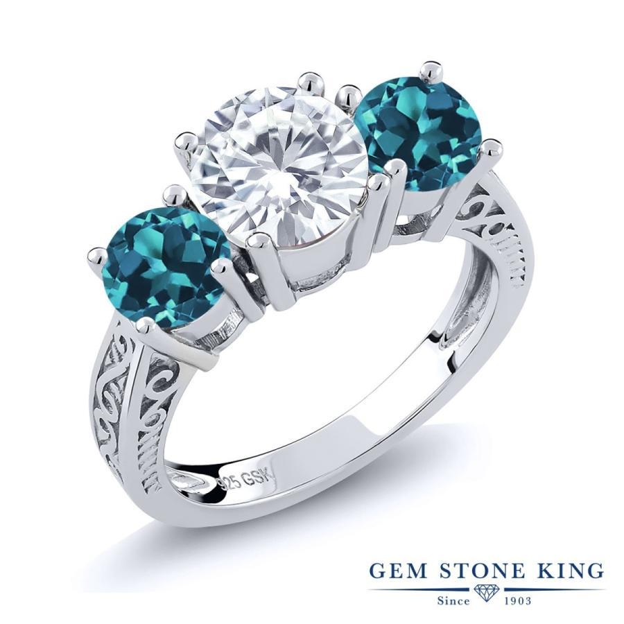 速くおよび自由な Forever Brilliant モアサナイト 指輪 レディース リング 天然 ロンドンブルートパーズ 大粒 プレゼント 女性 嫁 誕生日, 立科町 828c26c7