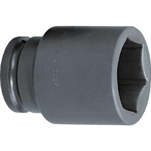 GEDORE インパクト用ソケット(6角) 1·1/2 K37L 70mm