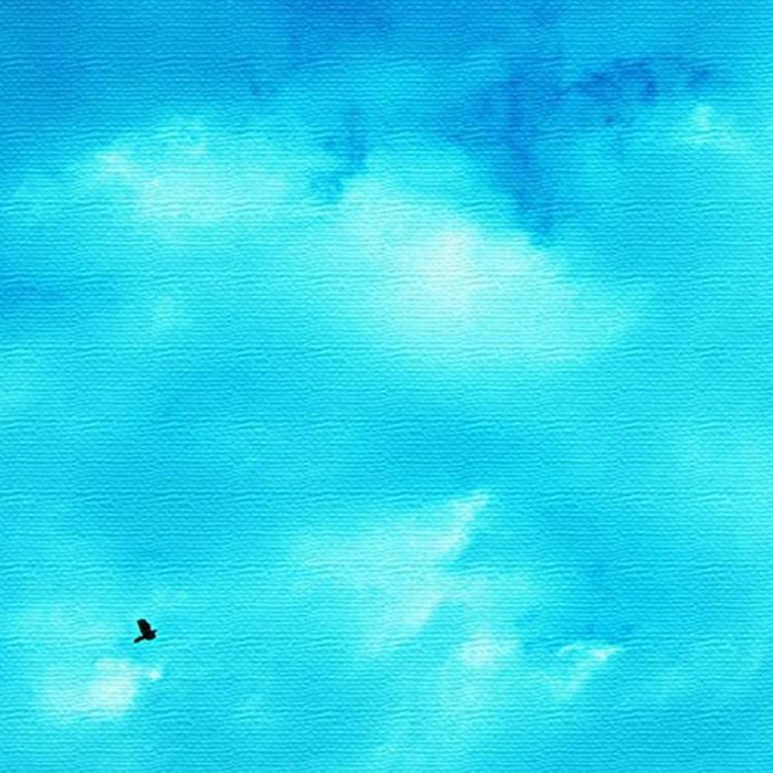 青空 アートパネル アートパネル PHOTO XLサイズ 100cm×100cm lib-4122829s4