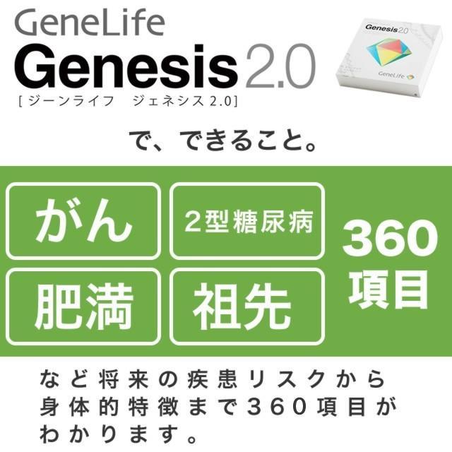 遺伝子検査 キット GeneLife Genesis2.0 ジーンライフ ジェネシス2.0 自宅でできる遺伝子検査 DNA検査 がんリスク判定|genelife|05