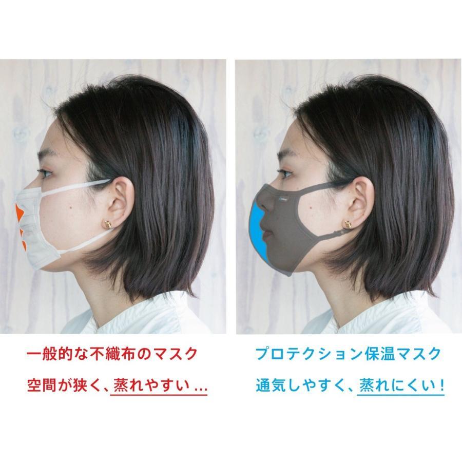 ※ プロテクション保温マスク ※ 抗ウイルス  消臭  空気清浄  気になる 呼吸のにおい 保湿 炭繊維 花粉 あたたかい 自転車 耳ひも調節 S M L|genethread|09