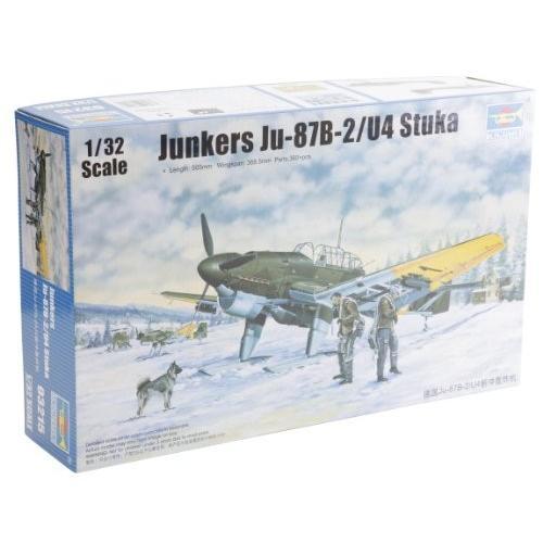 トランペッター 1/32 ドイツ軍 ユンカース Ju-87B-2/U4 シュトゥーカ 03215 プラモデル