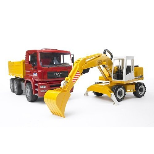 ブルーダー MAN トラック&LHショベル BR02751