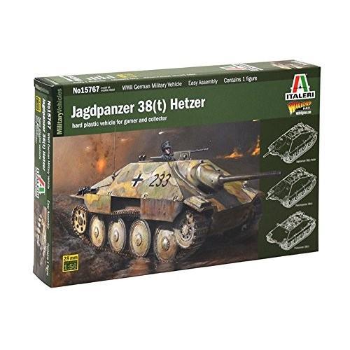 イタレリ 1/56 WW.II ドイツ軍 駆逐戦車 38(t)ヘッツァー