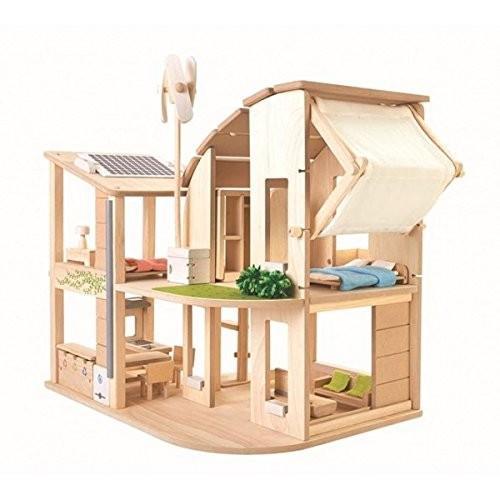 PLANTOYS 7156 家具付きグリーンドールハウス|genieweb