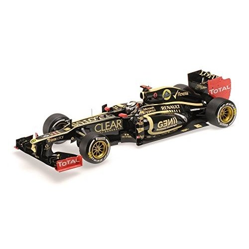 ☆ ミニチャンプス 1/18 ロータス F1 チーム ルノー E20 2012 F1 アブダビGP ウィナー #9 K.ライコネン
