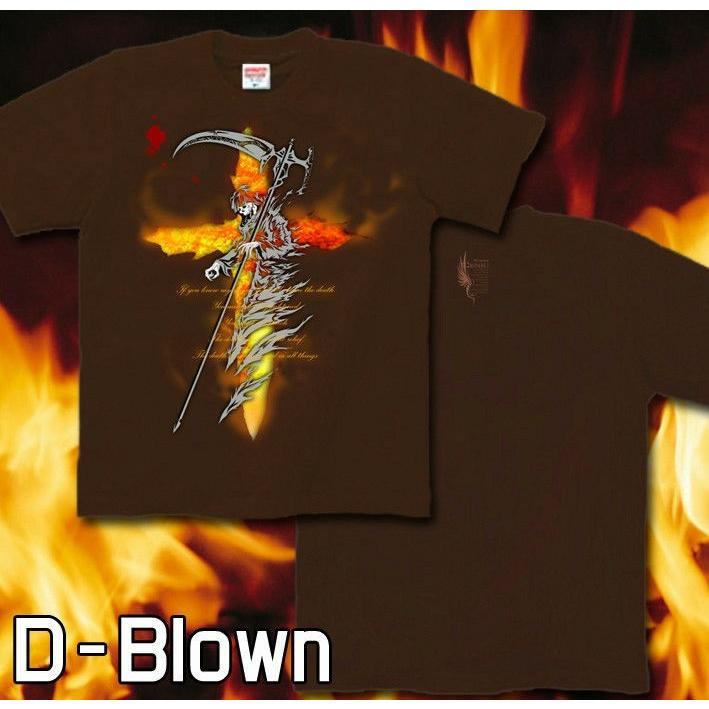 Tシャツ 死神 スカル メタル ロック|genju|06