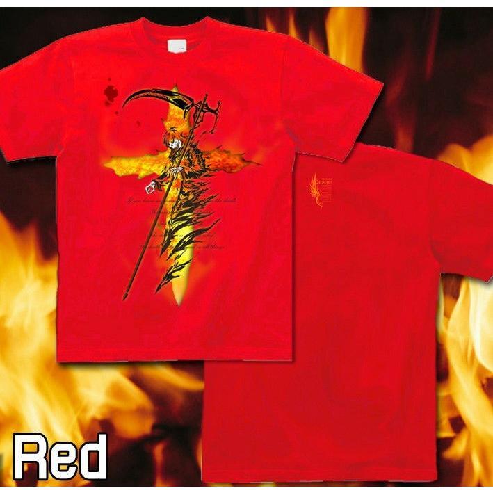 Tシャツ 死神 スカル メタル ロック|genju|08