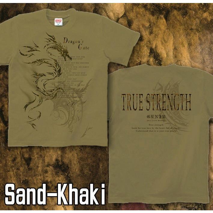 Tシャツ トライバル ドラゴン 竜|genju|09