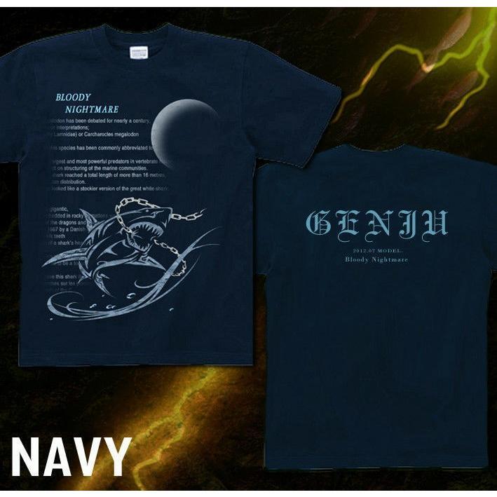 Tシャツ 鮫 トライバル 海 夏|genju|06