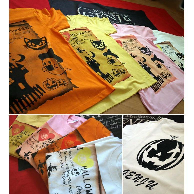 Tシャツ ハロウィン コスプレ 仮装 衣装|genju|02