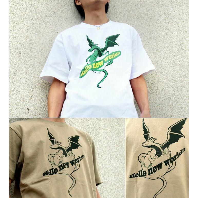 Tシャツ 竜 かわいい キュート 可愛い genju 02