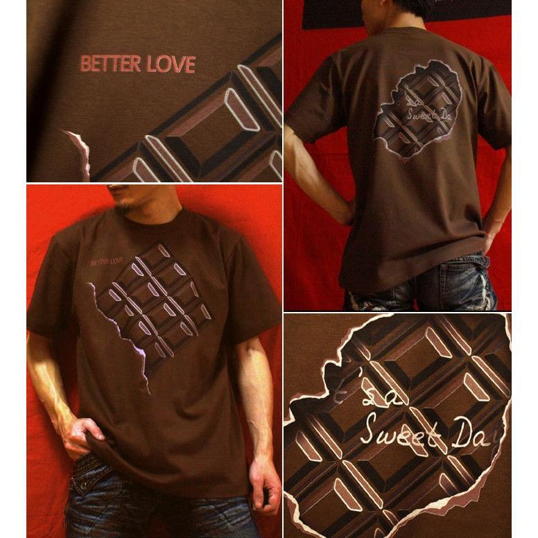 Tシャツ チョコレート バレンタイン genju 03
