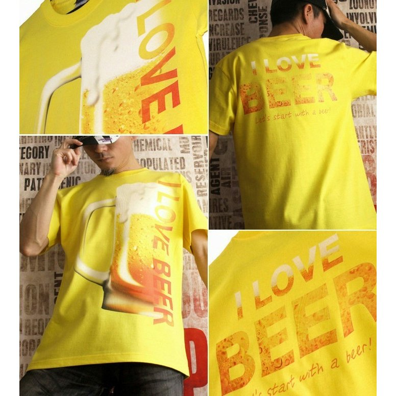 Tシャツ ビール 飲み会 イベント 忘年会|genju|04