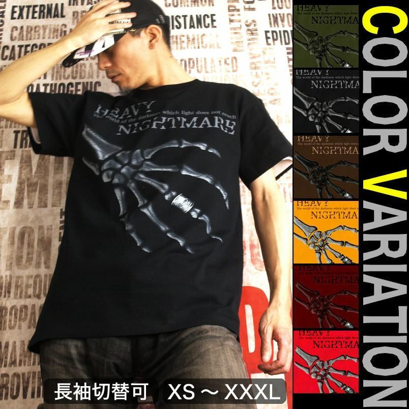 Tシャツ スカル メタル ロック ハード genju