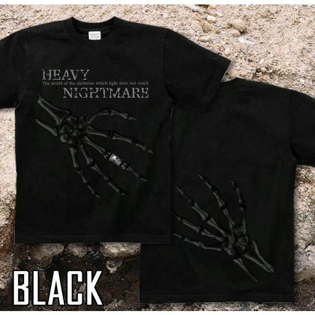 Tシャツ スカル メタル ロック ハード genju 05