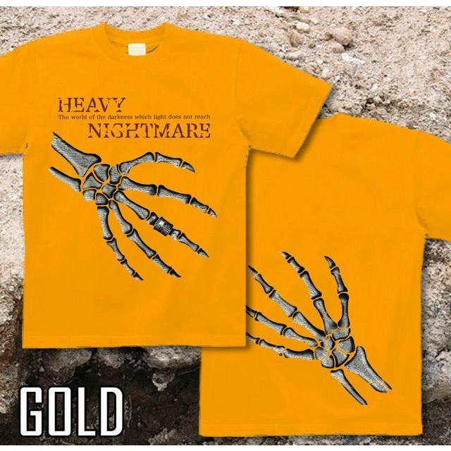 Tシャツ スカル メタル ロック ハード genju 07
