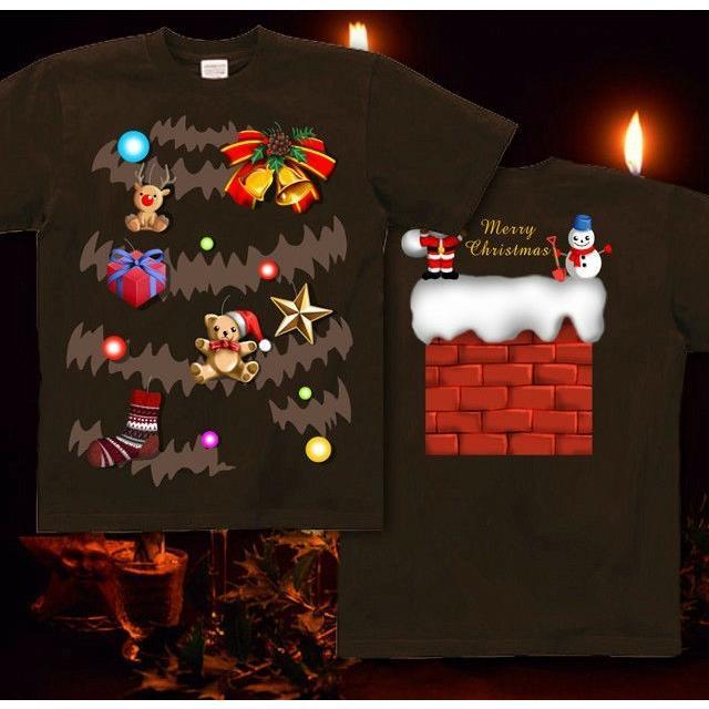 Tシャツ クリスマスツリー スポーツジム|genju|07