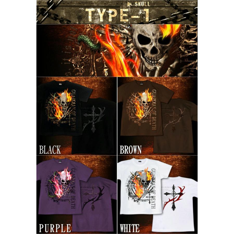 Tシャツ スカル skullfestival|genju|02