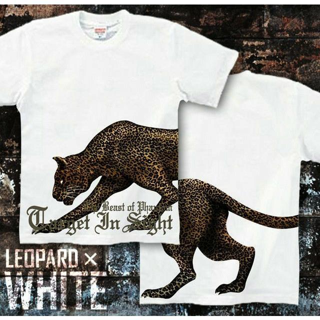 Tシャツ 豹柄 アメカジ 黒豹 サイズ genju 04