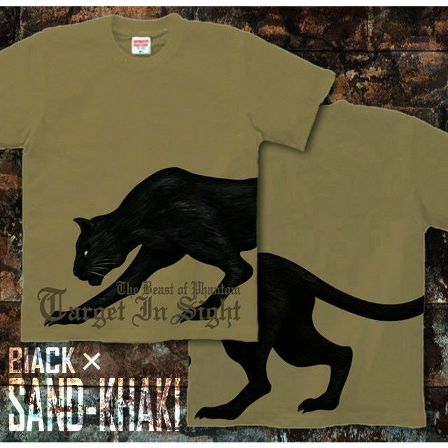 Tシャツ 豹柄 アメカジ 黒豹 サイズ genju 08