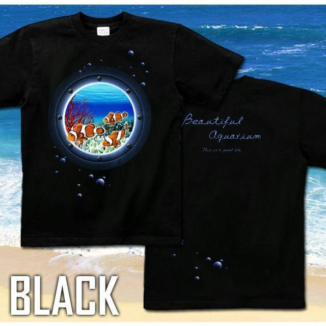 Tシャツ クマノミ 海 夏 水族館 ニモ|genju|04