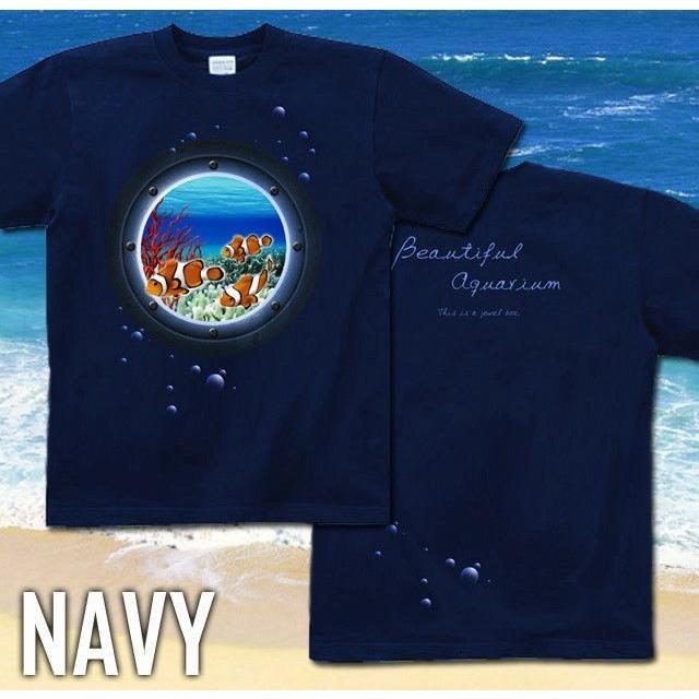 Tシャツ クマノミ 海 夏 水族館 ニモ|genju|05