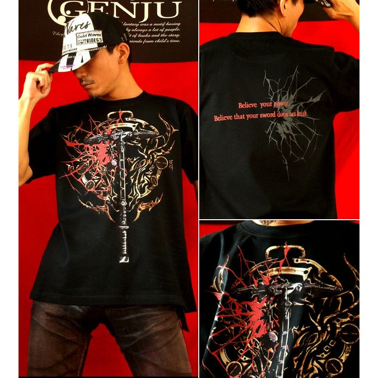 Tシャツ 武器 ハンマー サイズ|genju|02