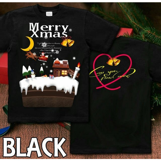 Tシャツ クリスマス ケーキ スポーツジム|genju|05