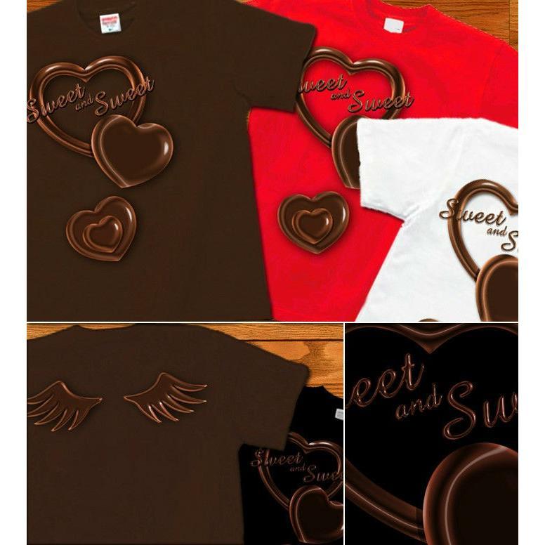 Tシャツ バレンタイン チョコレート|genju|03