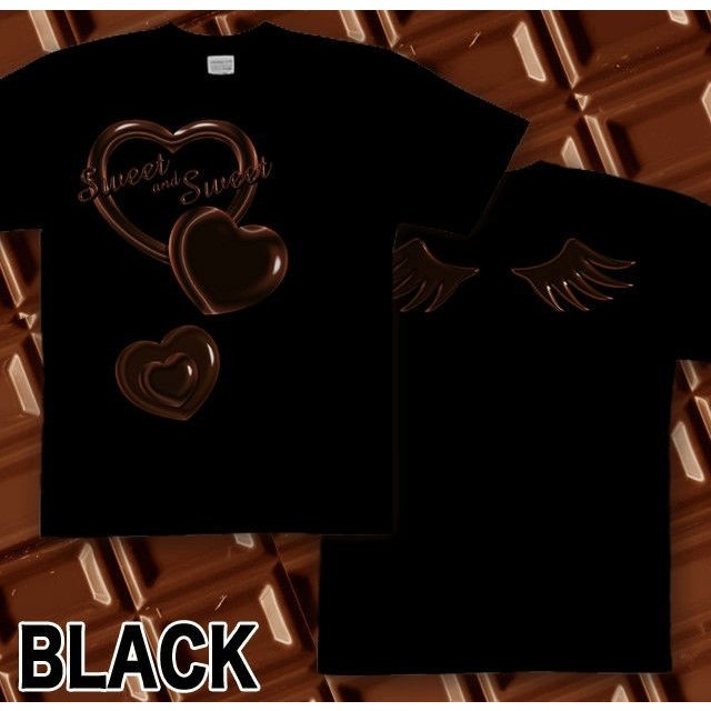 Tシャツ バレンタイン チョコレート|genju|05