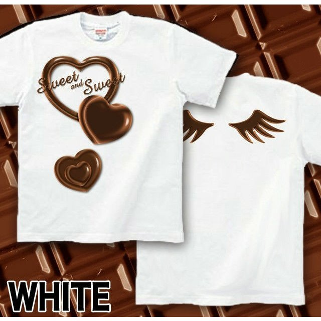 Tシャツ バレンタイン チョコレート|genju|06