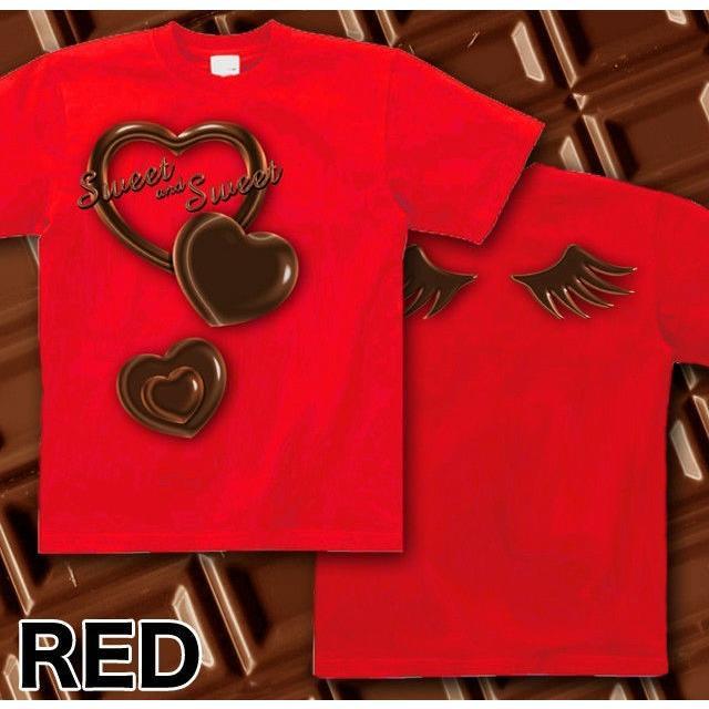 Tシャツ バレンタイン チョコレート|genju|07