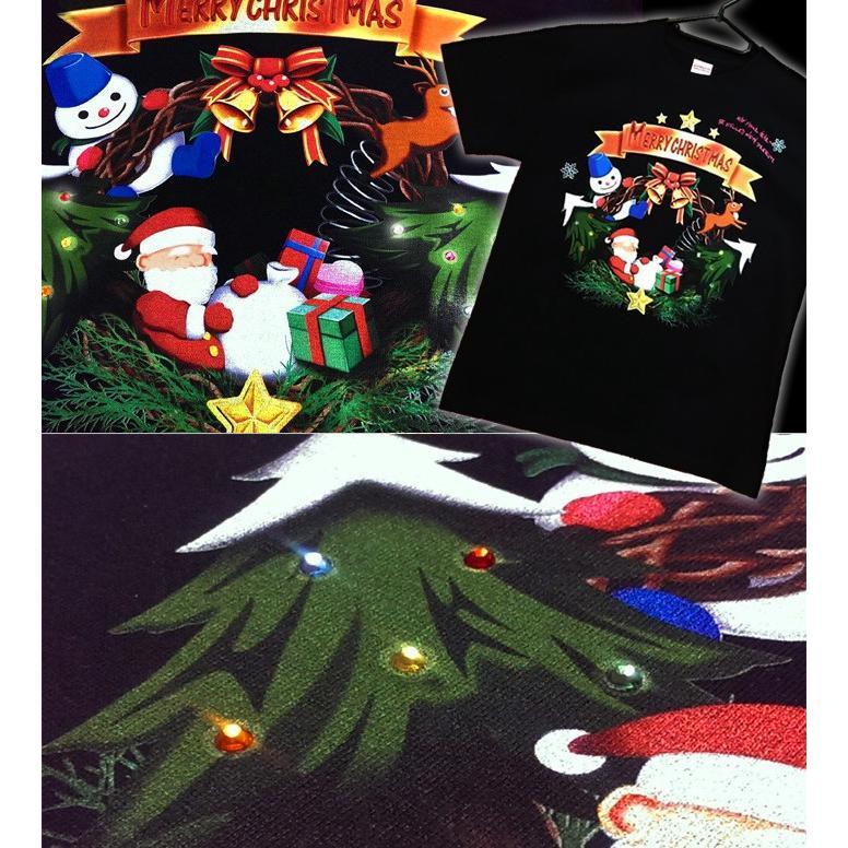 Tシャツ クリスマス 雪だるま イベント|genju|03