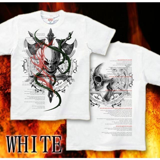 Tシャツ スカル ハード メタル ロック|genju|11