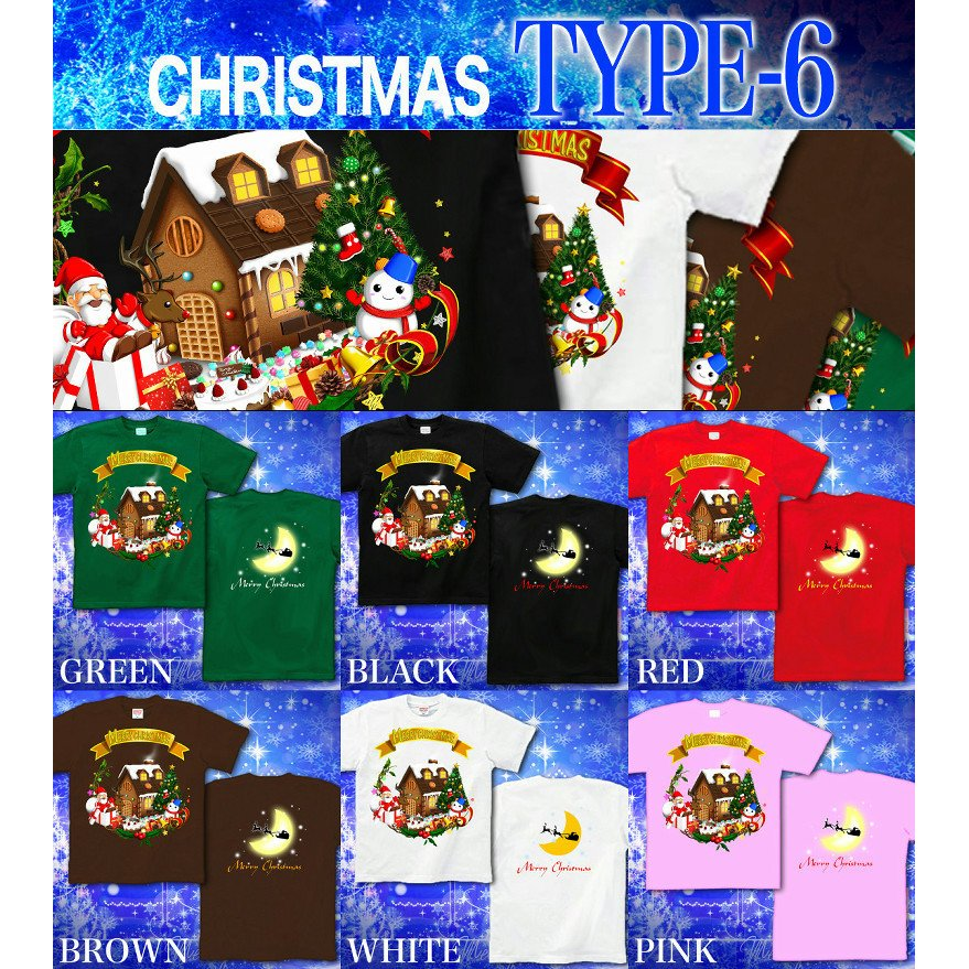 Tシャツ クリスマス コスチューム イベント genju 07