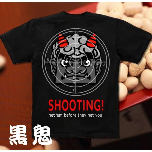 Tシャツ 節分 赤鬼 イベント 的 genju 07