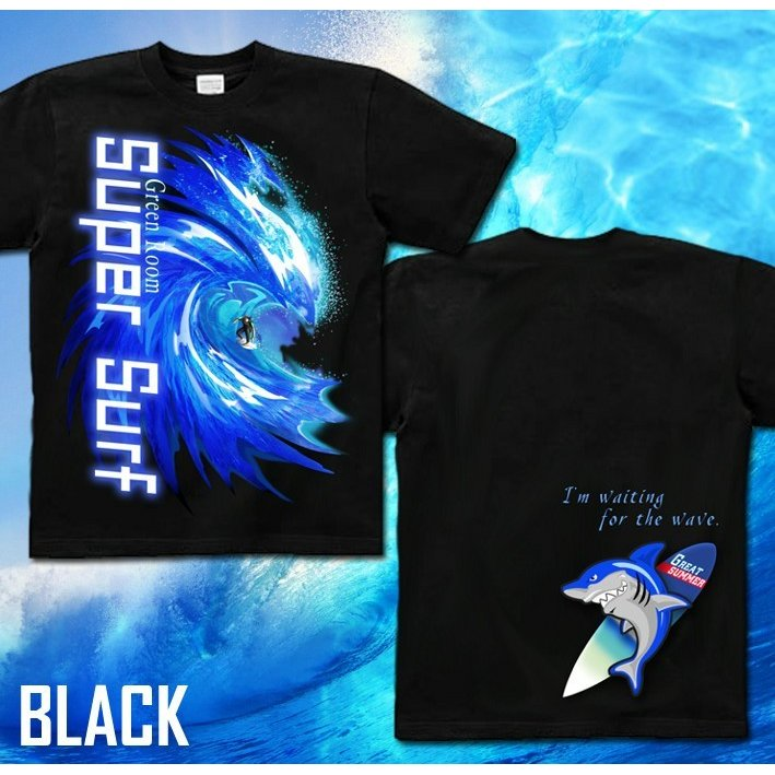 Tシャツ サーフボード 海 夏 サーフィン|genju|04